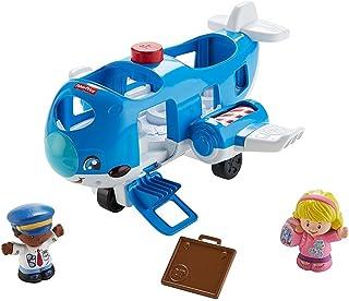 b309a4e7c Fisher-Price FKC78 - Avión Little People viajan Juntos (Juguete de  Actividades)