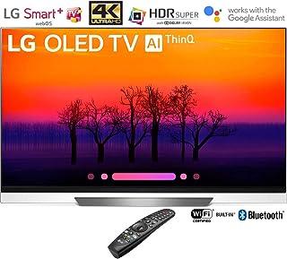 LG OLED55E8PUA 55in Class E8 OLED 4K HDR AI Smart TV (2018 Model) – (Renewed)
