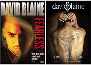 David Blaine: 2 DVD Collection - Live Street Magic Specials (Fearless / What Is Magic? / Drowned Alive / Vertigo)