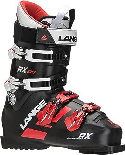 Lange RX 100 Men's Ski Boots Black/Red, Mens