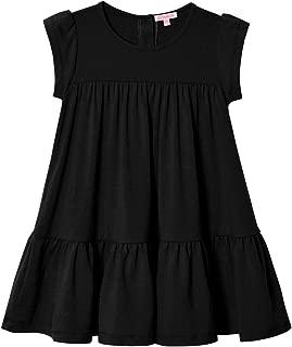 Áo quần dành cho bé gái – Little Girls Summer Dress Short Sleeve Tunic A-Line Tiered Swing Dress