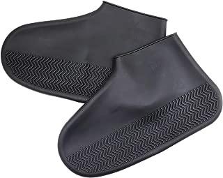 DGQ Silicone Shoes Covers Reusable Rain Boots Shoe Protectors for Women, Men, Kids