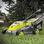 Sun Joe iON16LM 40-Volt 16-Inch Brushless Cordless Lawn Mower, Kit (w/4.0-Ah Battery + Quick Charger), ION16LM 15 For use with iBAT40 Series 40 V lithium-ion batteries and iCHRG40 and iCHRG40QC chargers - sold separately No pull cords, gas, oil, tune-ups, carbon emissions or tangled extension cords Powerful brushless motor increases battery efficiency, maximizes motor performance, decreases noise and vibration and extends motor life