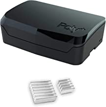 Argon Poly+ Case for Raspberry Pi 4 4GB/2GB/1GB | Heat Sink Included
