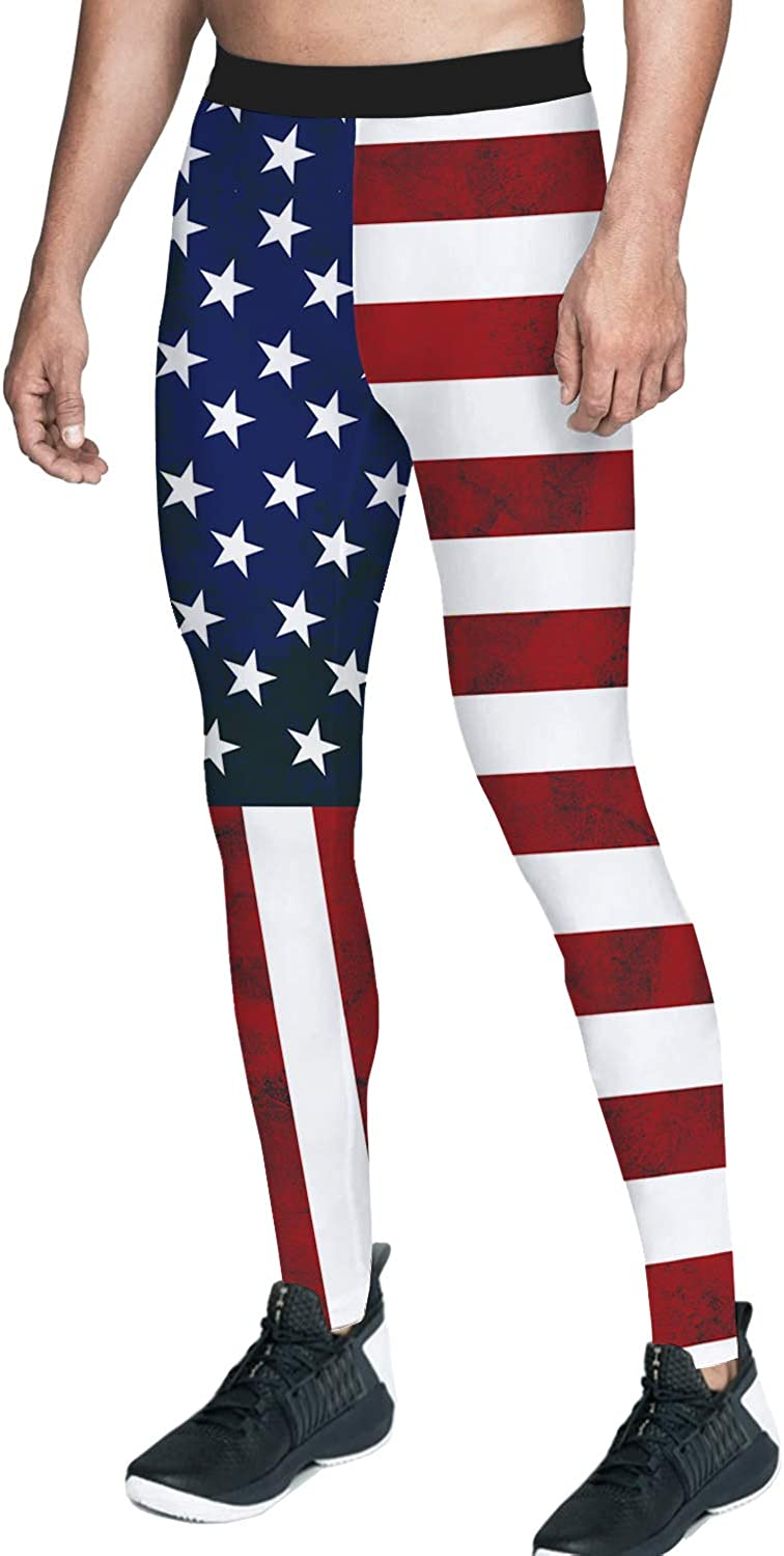 Queen Area Men's Compression Workout Fla Pants Sales Max 57% OFF for sale American Training