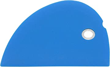 Messermeister Silicone Bowl Scraper, Blue
