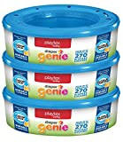 Playtex Diaper Genie Refill Bags, Ideal for Diaper Genie Diaper Pails, 270 Count (Pack of ...