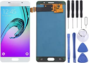 ZHANGYOUDE Pantalla LCD y ensamblaje Completo del digitalizador (Material TFT) para Galaxy A5 (2016) / A510 Reparar Piezas de Repuesto (Color : Blanco)