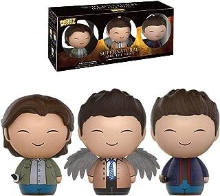 Funko - Figurine Supernatural - 3 Pack Sam Dean Castiel Dorbz 8cm - 0849803093136