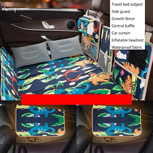 Travel Car Matratze Bett Rücksitz Klapp Camping Matratze Nicht belüftete Matratze Für SUV, Auto Supplies (Größe: C)