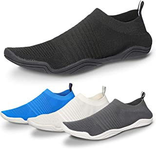 gracosy Mens Womens Water Shoes, Barefoot Beach Aqua Quick-Dry Shoes Summer Outdoor Sports for Pool Swim Surf Yoga Exercise