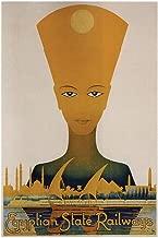 Egyptian State Railways Vintage Travel Cool Wall Decor Art Print Poster 24x36