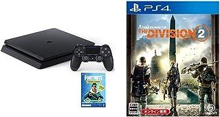 PlayStation 4 ジェット・ブラック 500GB (CUH-2200AB01) + ディビジョン2 - PS4 セット