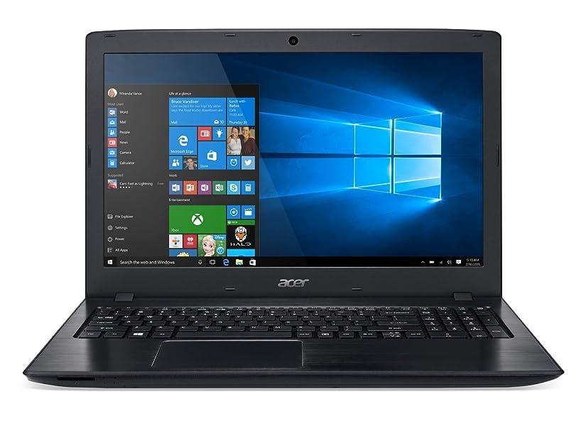 Acer Aspire E 15 E5-575G-57D4 15.6-Inches Full HD Notebook (7th Gen Intel Core i5-7200U, GeForce 940MX, 8GB DDR4 SDRAM, 256GB SSD, Windows 10 Home), Obsidian Black (Renewed)