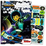 Miles From Tomorrowland Disney Coloring and Activity Book with Stickers