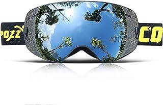 e68d9ba586 NZ- Ski goggles Gafas de esquí para niños, G3 Gafas de esquí para Snowboard