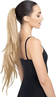 """The Ruby 30"""" Long Layered Ponytail Hair Extension StyleFlex - Celeb Stylists Prefer Us to Human Hair (Medium Blonde)"""
