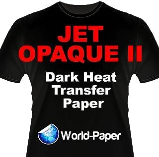 "Inkjet Transfer Paper for Dark Fabric: Neenah""Jet Opaque II"" (11""X17"") 25Pk :)"