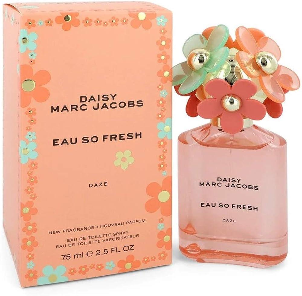 Marc jacobs daisy eau so, eau de toilette,profumo per donna, 75 ml 3614229654097