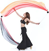 Thrown Balls for Professional Hip-hop Belly Dance Level Hand Props with Comfortable Finger Loops