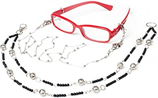 Cosfun Black Butler Grell Sutcliff Glasses Frame & Chain Cosplay mp000589
