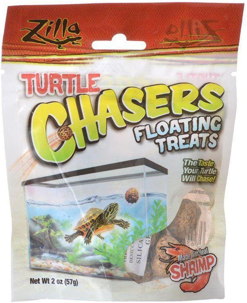 Zilla Limited time for free Store shipping Turtle Chasers Floating 2oz Treats Shrimp