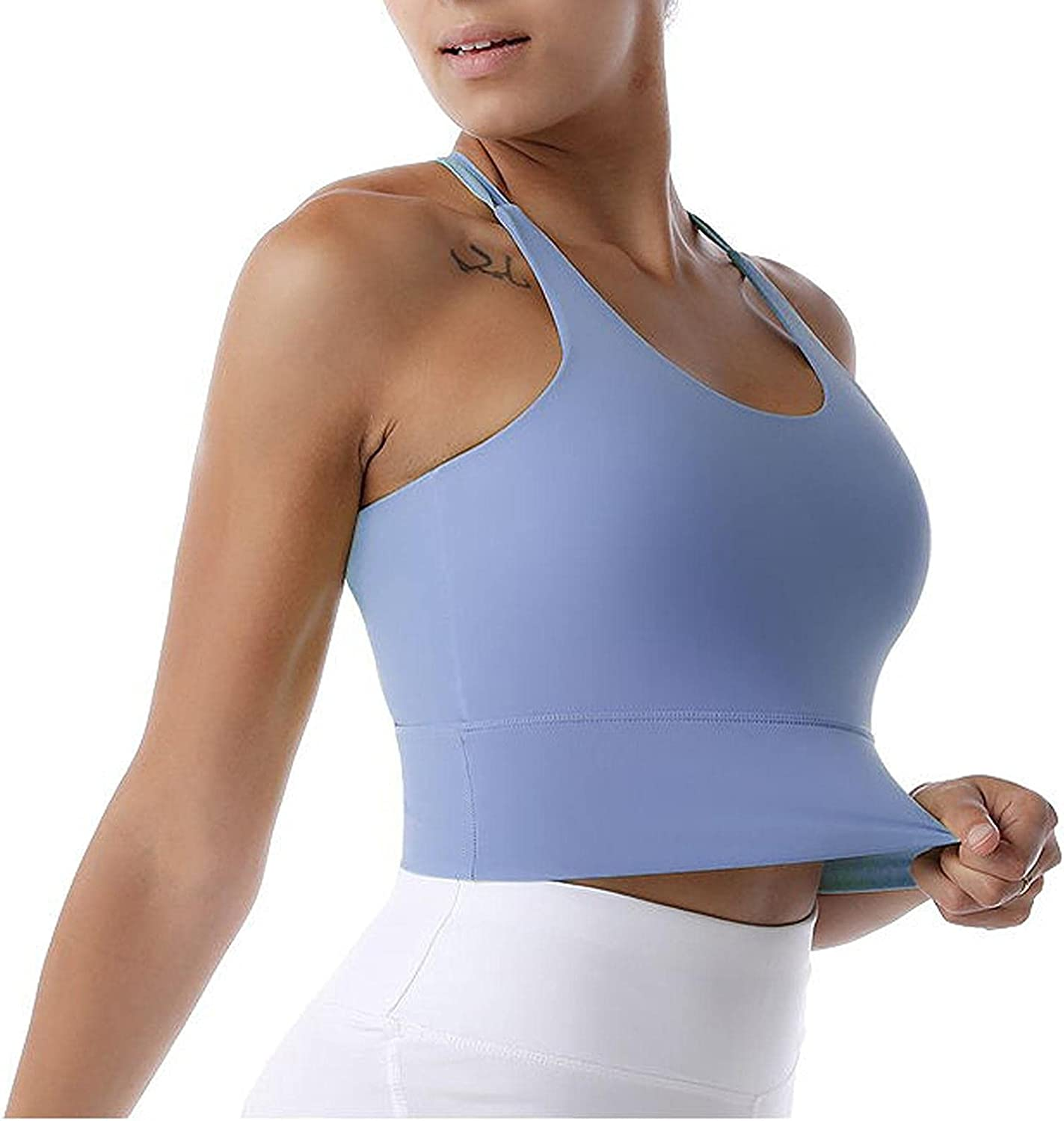 Womens with Chest Pad Beauty Breathable Fitness Back Be super Japan Maker New welcome Running Spo