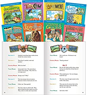 Teacher Created Materials - Classroom Library Collections: Reader's Theater: Fables - 8 Book Set - Grades 1-3 - Guided Rea...