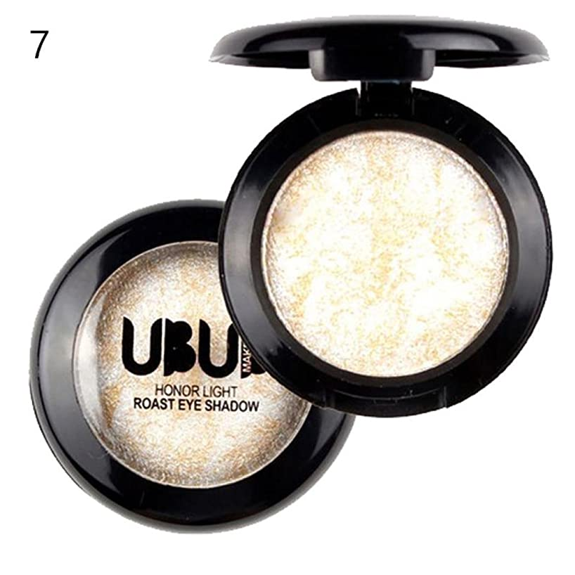 Corsion Single Baked Eyeshadow,Natural Nudes/Smoky Makeup Shimmer Metallic Pigmented Highlighter Eye Shadow Palette,Colors Optional (07)