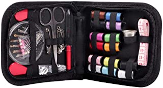 ZHUOTOP Sewing Kit for Travel Adults Beginner Emergency Embroidery DIY Sewing Supplies Organizer 68Pcs