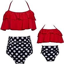 Kokowaii Fancy Mother and Daughter Swimwear Family Matching Swimsuit Girls Swimwear