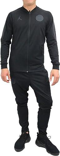 Nike SurveteHommest PSG m NK Dry sQD TRK Suit K CL , Homme, MultiCouleure (noir noir Anthracite Anthracite)