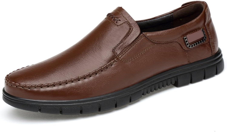 GTYMFH Business Daddy Schuhe Senior Schuhe Lederschuhe Rutschfest Rutschfest Rutschfest Herrenschuhe  8620d5