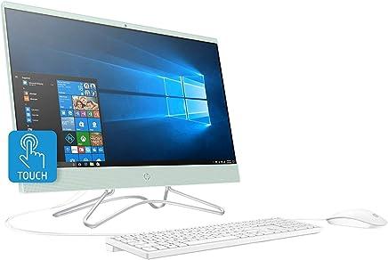 HP All In One, 23.8 FHD IPS Touchscreen Premium 2019 All In One Desktop Computer, Intel Quad-Core Pentium Silver J5005, 16GB DDR4, 512GB SSD, 1TB 7200rpm HDD, USB 3.1 DVD 802.11ac Bluetooth 4.2 Win 10