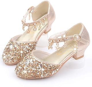 AIYIMEI Chaussures de Princesse Fille Chaussure de Danse Sandales pour Latines Tango Jazz Chaussures de Pratique de Salon ...