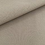 Tela para Punto de Cruz | 75cm x 50cm | 5,5 puntos/cm – 14 cuentas | 100% algodón | Elige color | de Delicatela (Moka)