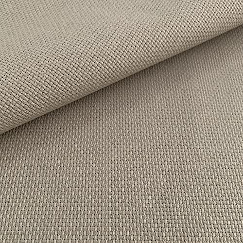 Tela para Punto de Cruz | 75cm x 50cm | 5,5 puntos/cm – 14 cuentas | 100% algodón | Elige color |...
