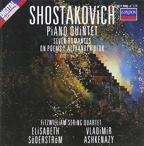 2 Pieces for String Quartet / Piano Quintet / Seven Romances on Poems of Alexander Blok
