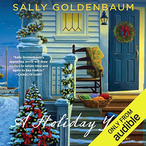 A Holiday Yarn audiobook cover art