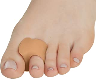 Silky Toes Toe Separators and Spreaders for Bunion 6Pk (Beige (6 Pack))