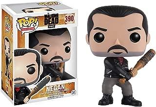 Negan: Walking Dead x Funko POP! TV Vinyl Figure & 1 POP! Compatible PET Plastic Graphical Protector Bundle [#390 / 11070 - B]