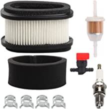 M70284 Air Filter + Fuel Filter Shut Off Valve for John Deere SRX75 SRX95 GX70 GX75 GX95 RX63 RX73 RX75 RX95 SX75 SX95 130 160 165 Riding Mower Tractor