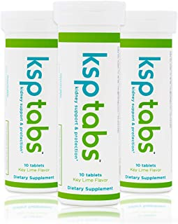 Sponsored Ad - KSPtabs All Natural Hydration & Kidney Health Supplement to Combat Calcium Oxalate Crystal Formation, Key L...