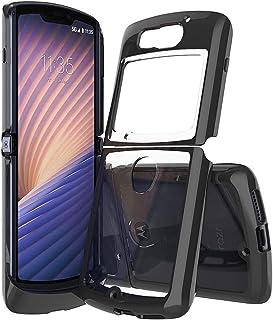 Case for Moto Razr 5G,Moto Razr 5G Case,Crystal Transparent Hard PC Design Reinforced Corners Shock Absorbing Slim Fit Fle...