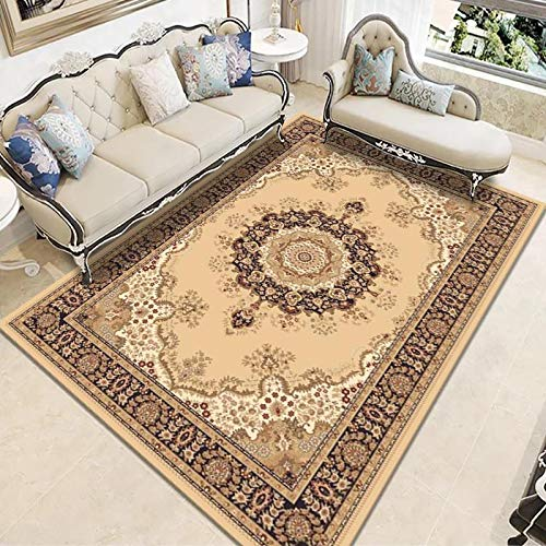 ZAZN Nordic Style Rectangular Carpet, Household Sofa, Living Room, Coffee Table, Carpet, Bedroom Floor Mats Can Be Washed
