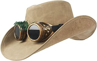 LiWen Zheng 10 Style 100% Leather Men Western Cowboy Hat For Dad Gentleman Sombrero Hombre Jazz Caps Size 58-59CM