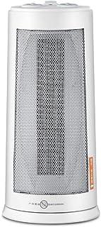 GXDHOME Calefactores Calentador de Ventilador, Calefacción Eléctrica de Cerámica Vertical Seguridad y Ahorro de Energía Escritorio de Invierno Oficina Casa Baño