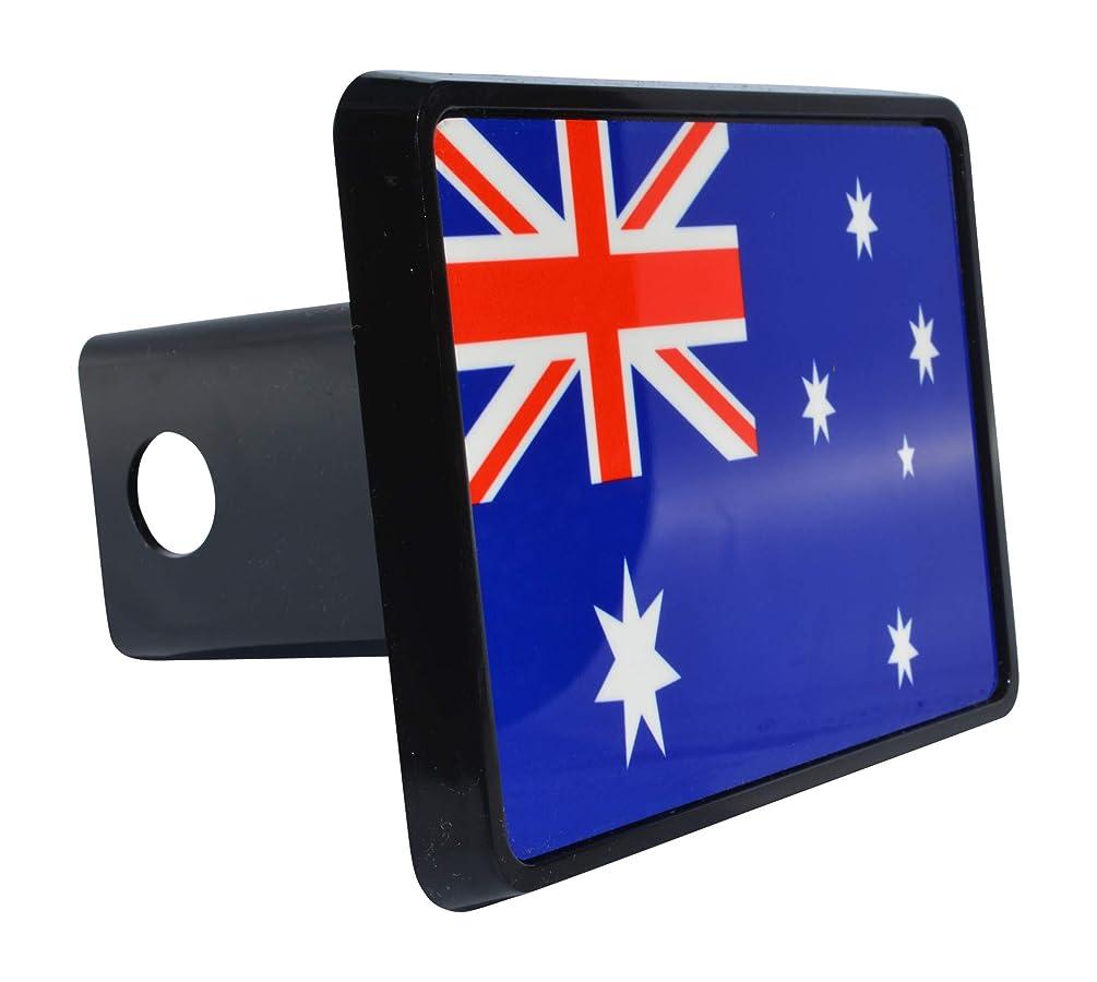 Rogue River Tactical Australia Australian Flag Trailer Hitch Cover Plug Gift Idea