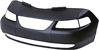 Lebra 2 piece Front End Cover Black - Car Mask Bra - Fits - HYUNDAI,ACCENT,2006 thru 2009