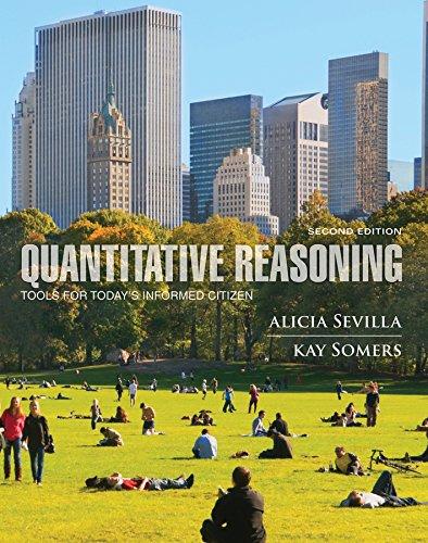 Quantitative Reasoning: Tools for Today